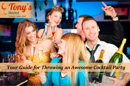 Your Guide for Throwing an Awesome Cocktail Party
